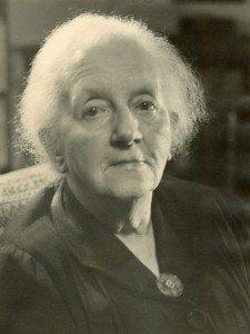 Die Namensgeberin des Alten- und Pflegeheims Dr. Agnes Geering